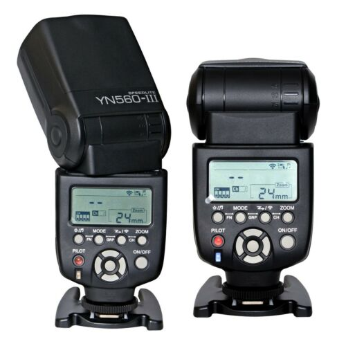 Yongnuo YN560 III Wireless LCD Flash Speedlite YN-560 III For Canon Nikon Pentax in Cameras & Photo, Flashes & Flash Accessories, Flashes | eBay