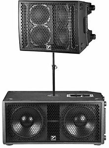 yorkville paraline psa1s subwoofer psa1 line array speaker pole free shipping ebay. Black Bedroom Furniture Sets. Home Design Ideas