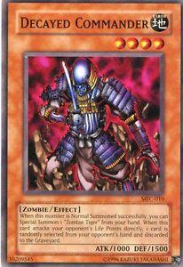 Yu-Gi-Oh-Karte-Decayed-Commander