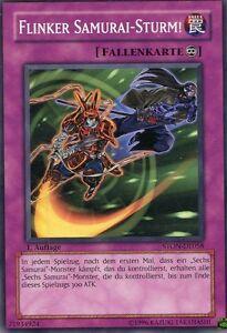 Yu-Gi-Oh-Karte-Flinker-Samurai-Sturm