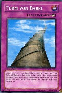 Yu-Gi-Oh-Karte-Turm-von-Babel