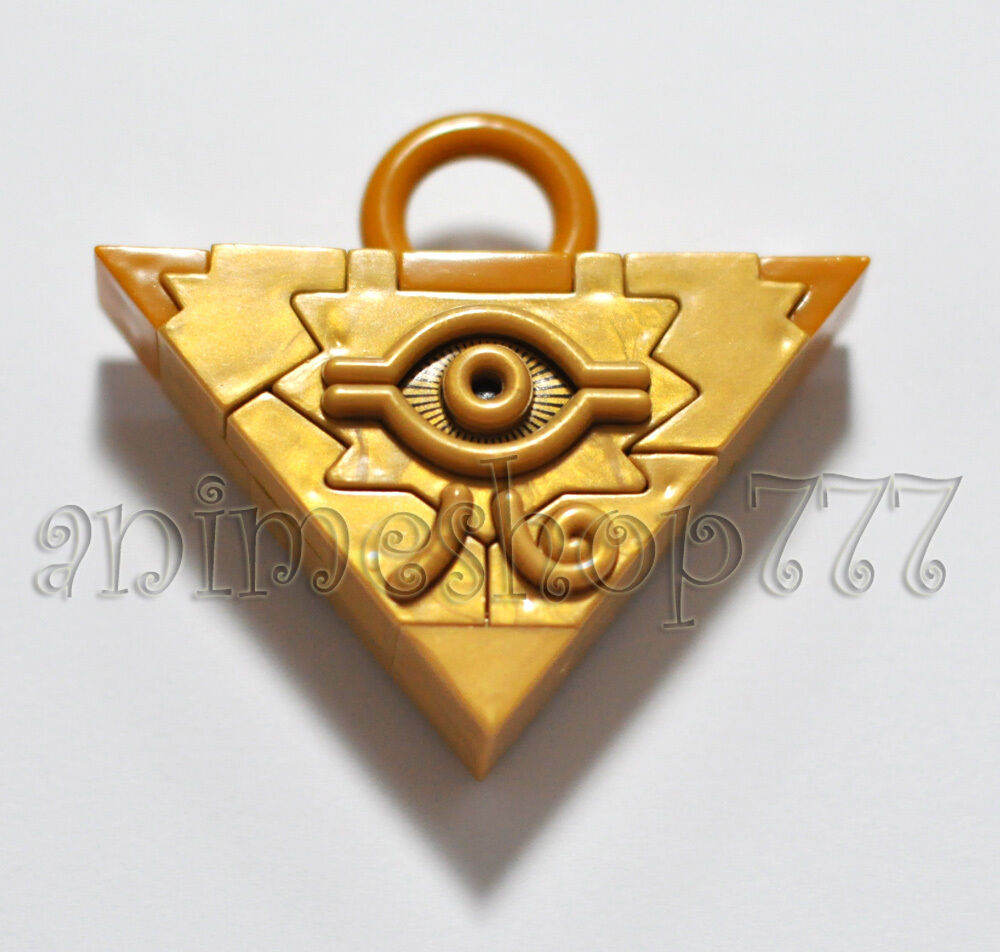 Duel Monsters Millennium Puzzle Ring Badge Necklace Pendant 8pcs Set+box Drop Ship Props Yu-gi-oh Novelty & Special Use Costumes & Accessories