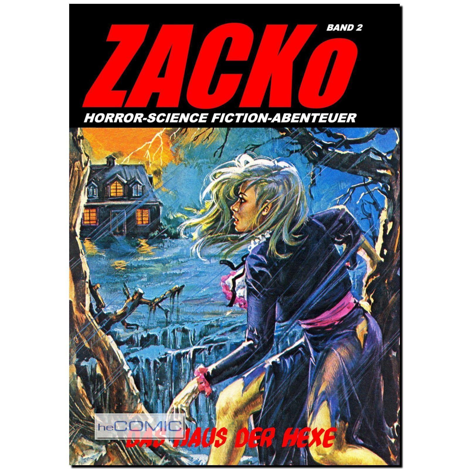 Haus Der Dämonen: ZACKo 2 Das Haus Der Hexe HORROR Fumetti Neri EROTIK