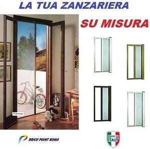 Zanzariera laterale a rullo avvolgente su misura per porte - Zanzariere per porte finestre prezzi ...