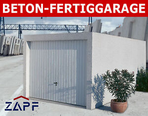 zapf garage garagen fertiggarage fertiggaragen a beton ebay. Black Bedroom Furniture Sets. Home Design Ideas