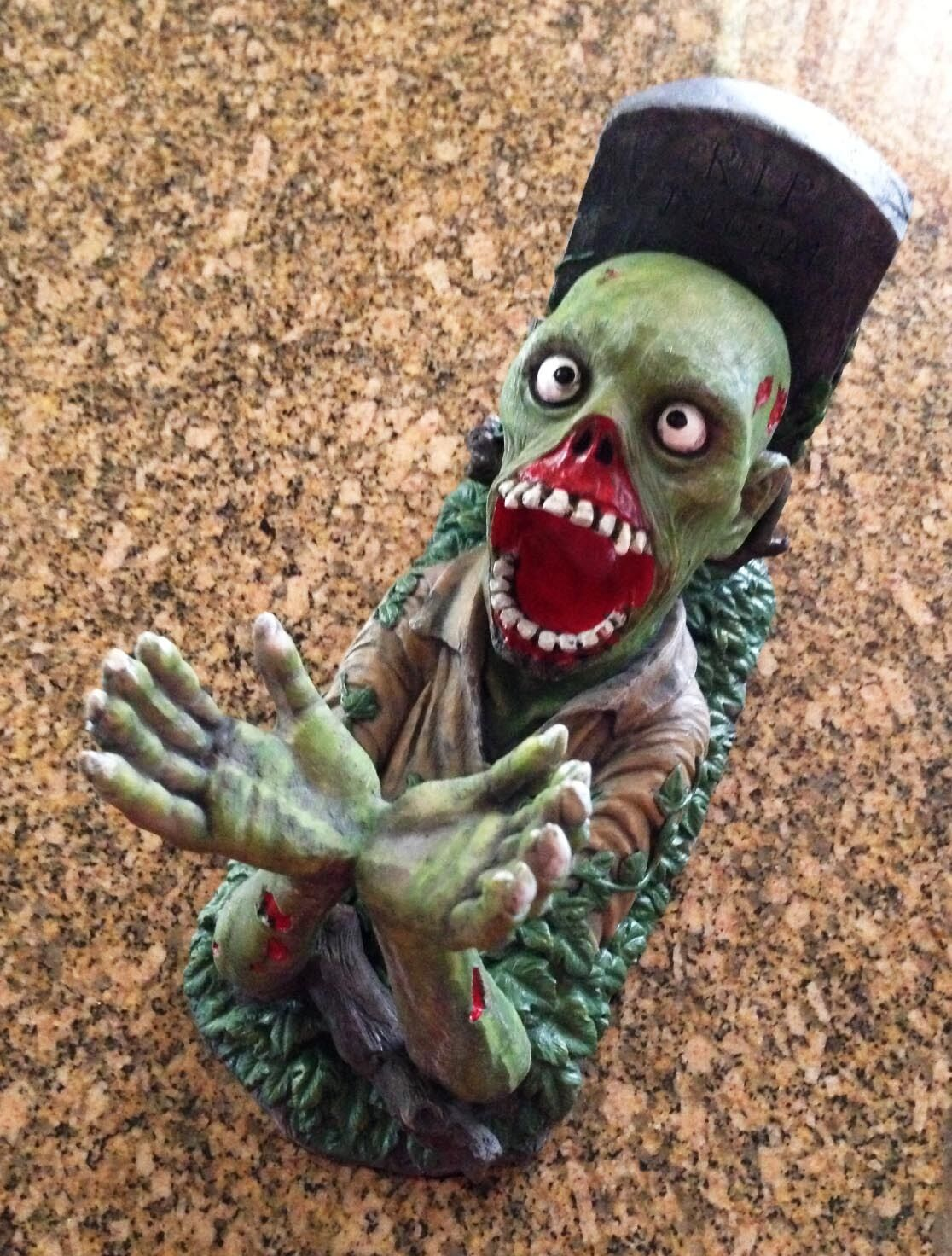 Zombie Monster Wine Bottle Holder Walking Dead Accessory Kitchen ...