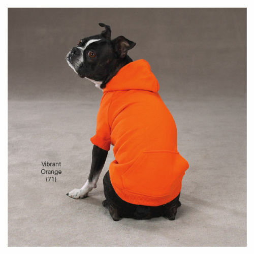 Zack & Zoey Basic Dog Hoodies Hooded Pet Sweatshirt Coats for Dogs XS