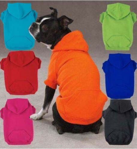 Zack & Zoey Dog Hoodie Sweatshirt Shirt 6 colors XS-XXL in Pet Supplies, Dog Supplies, Apparel | eBay