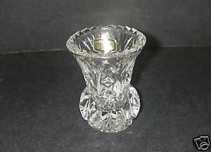 Lead Crystal Vases - Steinbach Nutcrackers, Steinbach Smokers