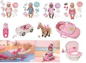 zapf baby born puppe interactive boy girl star pferd. Black Bedroom Furniture Sets. Home Design Ideas
