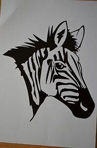 Zebra-Aufkleber-Sticker-Auto-Tiere-m384