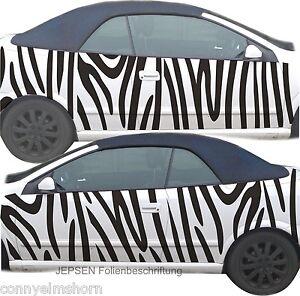 Zebra-CARTATTOO-Autoaufkleber-Seitenaufkleber-Rolle-150x60cm-zum-zuschneiden