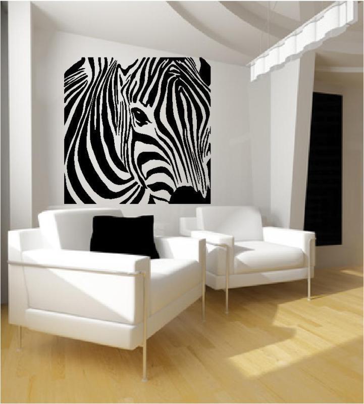 Zebra Wall Art Decals 47