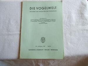Zeitschrift-Die-Vogelwelt-Heft-4-1980