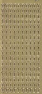 Zier-Sticker-Bogen-Buchstaben-nur-O-gold-5570g