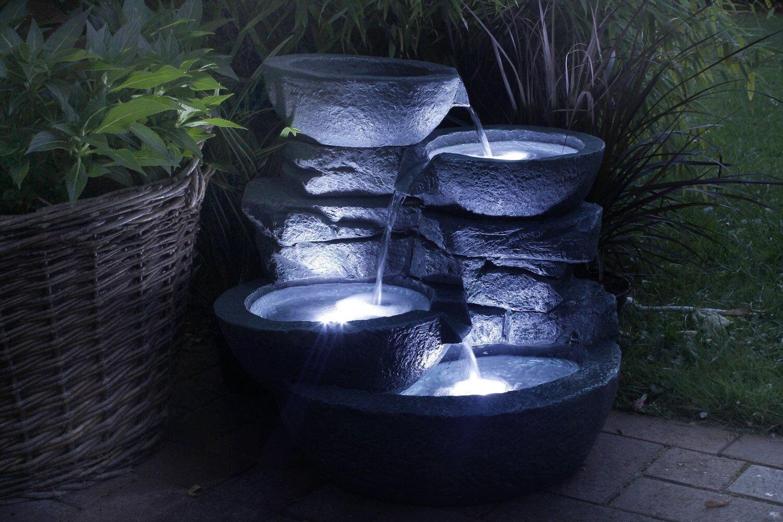 zimmerbrunnen cascades led beleuchtung in romanshorn kaufen bei. Black Bedroom Furniture Sets. Home Design Ideas