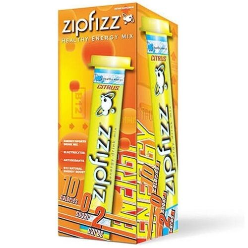 Zipfizz Energy Sports All Natural Healthy Drink Mix Powder