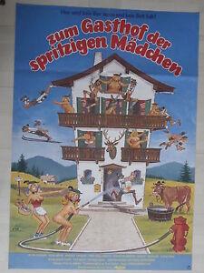 Zum Gasthof der spritzigen Mädchen (EA 1979) - Kinoplakat Filmplakat - <span itemprop=availableAtOrFrom>Stockstadt, Deutschland</span> - Zum Gasthof der spritzigen Mädchen (EA 1979) - Kinoplakat Filmplakat - Stockstadt, Deutschland