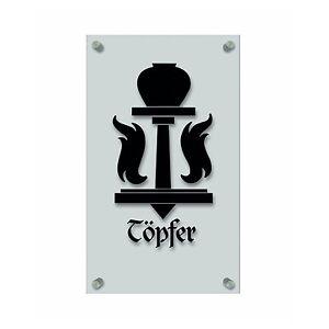309416 zunft handwerker zeichen acryl kunststoff platte beschriftet t pfer ebay. Black Bedroom Furniture Sets. Home Design Ideas