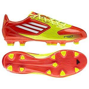adidas F 10 TRX FG 2012 Soccer Shoes Brand New Orange Yellow White KIDS