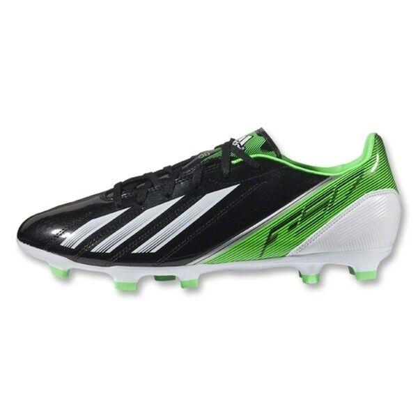 c8b0c5540 Adidas F10 Adizero TRX FG Soccer Cleats G65348 Black White Green Messi