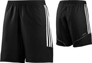 adidas t12 woven shorts damen schwarz kurze hose. Black Bedroom Furniture Sets. Home Design Ideas