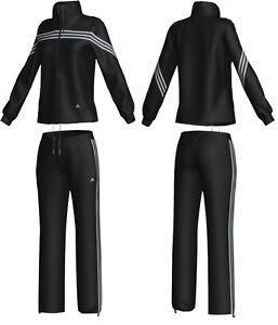 adidas women suit damen set sportanzug anzug. Black Bedroom Furniture Sets. Home Design Ideas