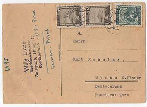 alte-Postkarte-Syrau-Plauen-Vogtland-Sachsen-Osterreich-v-1946-Privatpost