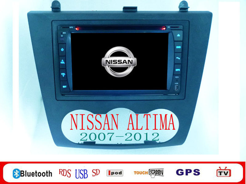 Android Nissan Altima Car DVD 07 2012 Altima Android Car DVD Player iPod BT GPS