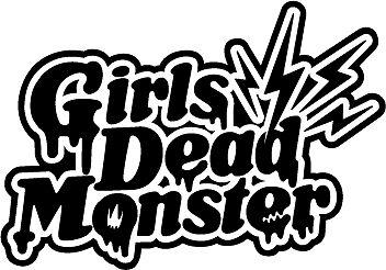 anime girls dead monster angel beats logo sticker decal