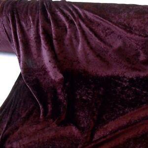 antik bordeaux panne samt stoff mit glanz f r gardine deko und kleid meterware ebay. Black Bedroom Furniture Sets. Home Design Ideas