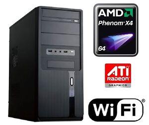 aufruest-Quad-Core-Computer-AMD-Phenom-II-X4-945-4gb-PC-Rechner-Komplett-System