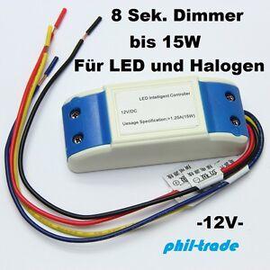 automatischer 8 sekunden dimmer led lampe 12v auto relais. Black Bedroom Furniture Sets. Home Design Ideas