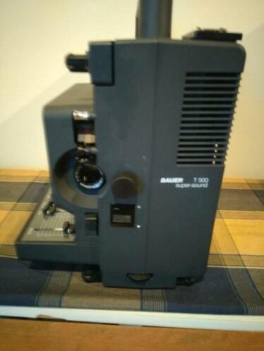 Bauer super 8 super sound T500 film projector