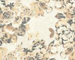 Belle Epoque bloemen behangpapier goud