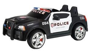 Police Car Kids Ride on Toy Car Battery Powered 2 Seats 12V on PopScreen