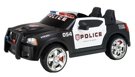 Police Car Kids Ride on Toy Car Battery Powered 2 Seats 12V
