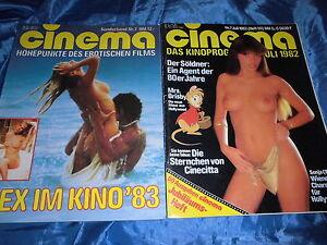 cinema-Juli-1982-FILM-Zeitschrift-Sonderband-7-Sex-im-Kino-1983-Erotik