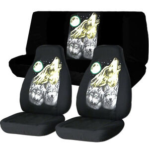 Jeep Wrangler Seat Covers >> Cool Jeep Wrangler TJ Front Back Car Seat Covers Black ...