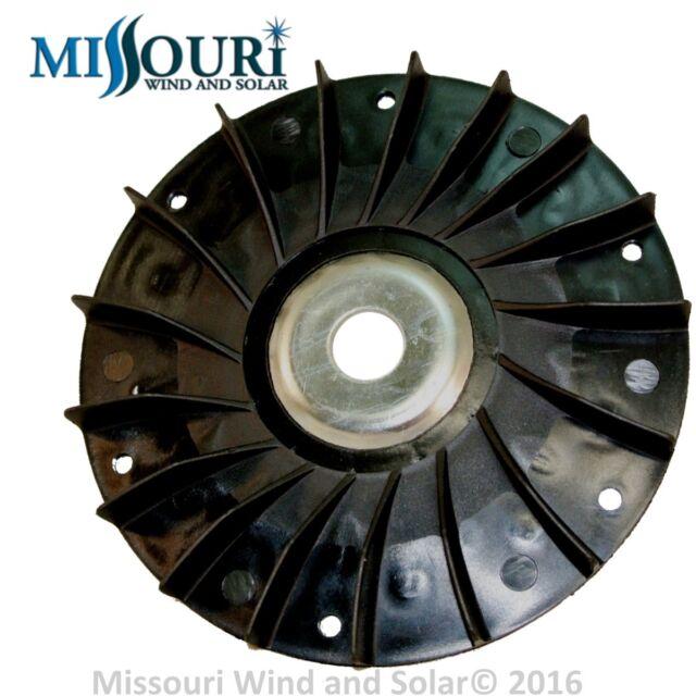 Fan AND 60 MM pulley 4 permanent magnet alternator generator pma pmg hydro Delco