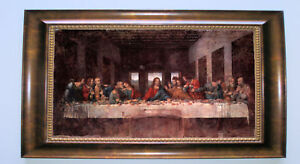 da Vinci The last Supper - Framed Giclee Canvas S in Art, Art from Dealers & Resellers, Paintings | eBay