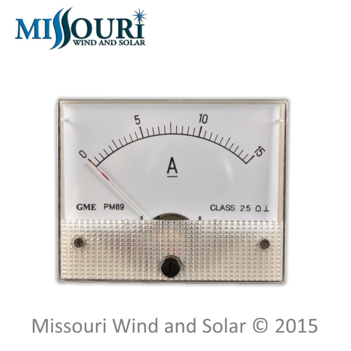 Dc 15 Amp Analog Meter For Wind Turbine Generators And Solar Panels Power From Or Panel To House Wiring Missouri