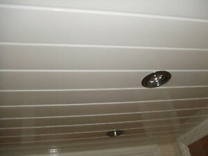 Decorative Bathroom Plastic Pvc Ceiling Cladding Grooved