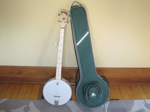deering goodtime open back banjo in perfect condition with nice soft case in Musical Instruments & Gear, String, Banjo | eBay