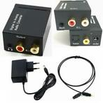 Digital naar Analog Audio Converter box met 5V EU-voeding