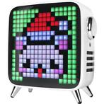 Divoom Tivoo-Max White Pixel Art Bluetooth-speaker