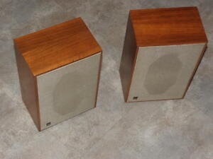 dual cl 111 hi fi box speakers wood vintage compact lautsprecher retro stereo ebay. Black Bedroom Furniture Sets. Home Design Ideas