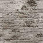 DUTCH WALLCOVERINGS Papier peint Old Brick Wall Gris