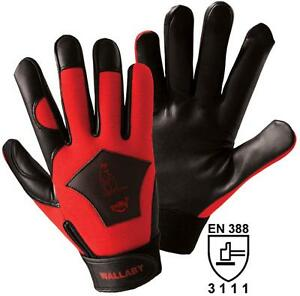 edler-Nappaleder-Handschuh-Lederhandschuh-erstklassige-Griffsicherheit