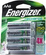 energizer aa rechargeable batteries in Consumer Electronics, Multipurpose Batteries & Power, Rechargeable Batteries | eBay